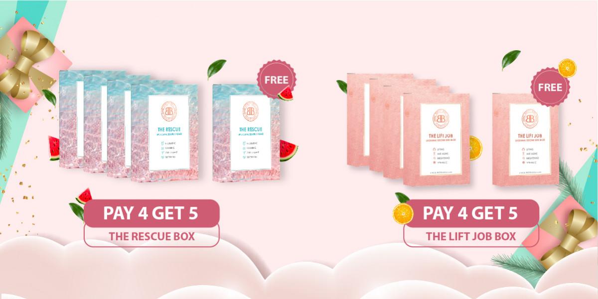 Promo Pay 4 Get 5 Box